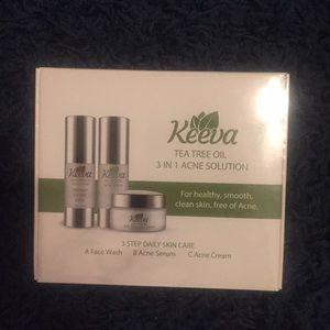 Brand new Keeva acne 3 step solution